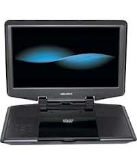 12 Inch Portable DVD Player - battery with up to 2 hours