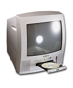 bush dvd142rc silver tv and dvd combo review compare prices buy online. Black Bedroom Furniture Sets. Home Design Ideas
