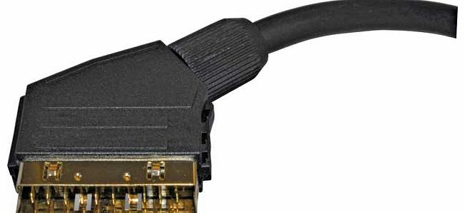 Gold Plated SCART Lead - 1.5m