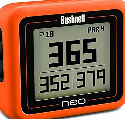 Bushnell Neo GHOST Golf GPS Orange