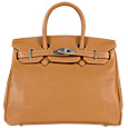 Embossed Calf Leather Flap Handbag