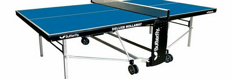 Deluxe Indoor Rollaway Table Tennis