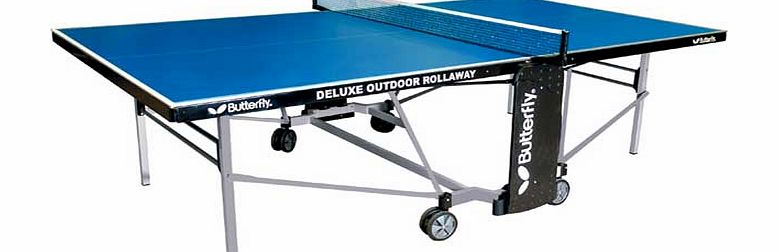 Deluxe Outdoor Tollaway Table Tennis