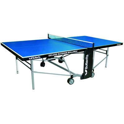 Deluxe Rollaway Outdoor Table Tennis Table
