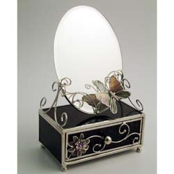 design Trinket Box and Mirror