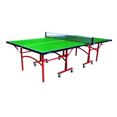 Easifold Outdoor Rollaway Table Tennis Table (Blue)