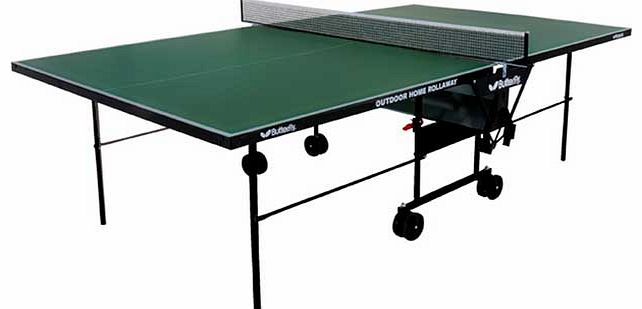 Outdoor Table Tennis Table - Green/Black