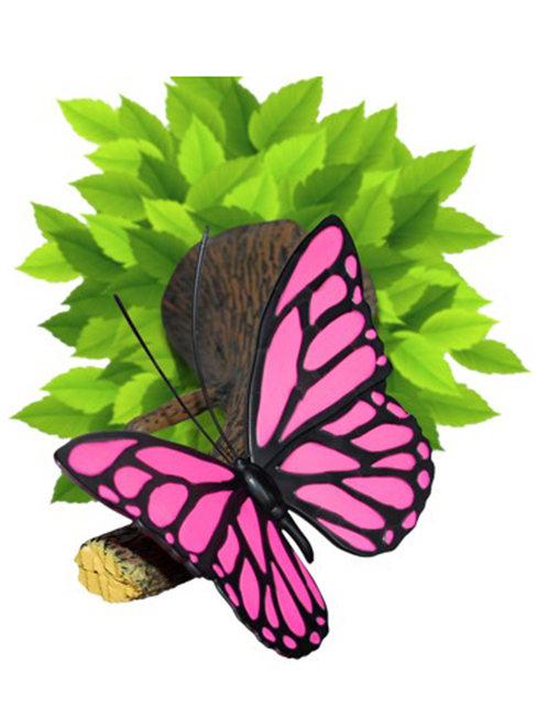 Pink Butterfly 3D LED Wall Light