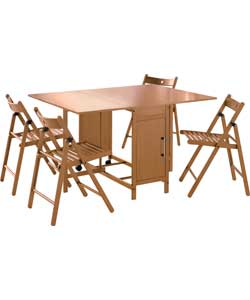 Rectangular Dining Table and 4 Chairs