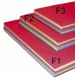 A3 ASSORTED SUGAR PAPER 250 SHEETS F2