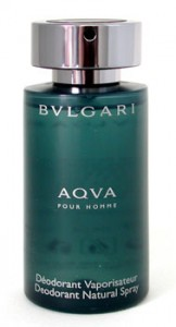 Aqva Pour Homme Deodorant Natural Spray