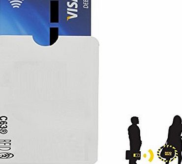 C63® Contactless Credit Card Protector. Prevents your details from being Stolen. ID Safety Block Wallet