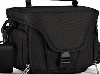 CAISON  Digital Camera Bridge Compact System Mirrorless Comfort Case Carry Messenger Shoulder Bag