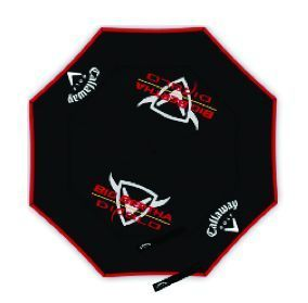 BIG BERTHA DIABLO 64 INCH GOLF UMBRELLA Black/Red