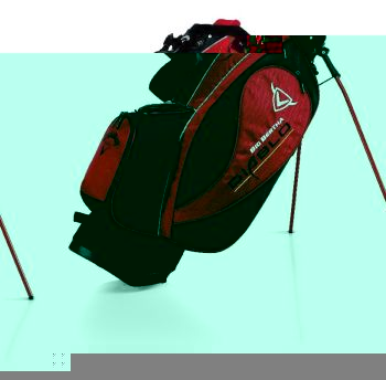 BIG BETHA DIABLO STAND CARRY GOLF BAG Red/Black