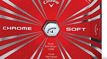 Callaway Chrome Soft Golf Balls (12 Balls) 2016