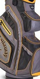 Callaway Golf 2016 Chev Org Cart Trolley Bag - Charcoal/Black/Gold
