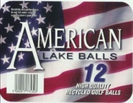 HX Blue Lake Golf Balls SCCBBLB