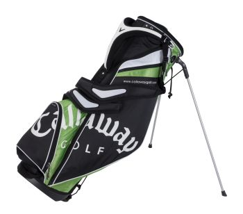 STRIKE LIGHT STAND CARRY GOLF BAG Black/Orange