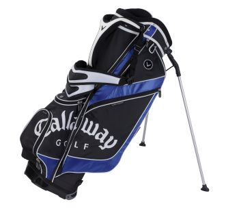 STRIKE STAND PLUS CARRY GOLF BAG Black/Silver