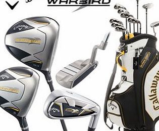Callaway Warbird Mens Complete Club Set with Cart Bag