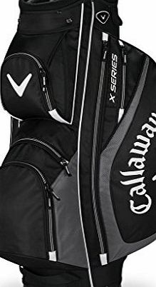 Callaway X Series Golf Trolley Bag, Unisex, Negro / Charcoal