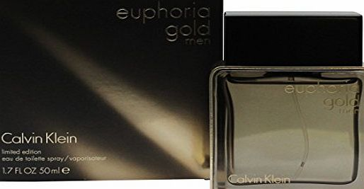 Calvin Klein Euphoria Gold Limited Edition For Men by Calvin Klein Eau de Toilette 50ml