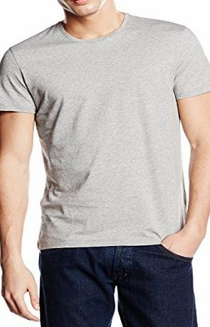 Calvin Klein Mens Jari T-Shirt, Gris (Medium Grey), M