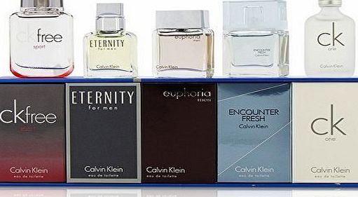 Calvin Klein Mini Set Gift Set 4ml Forbidden Euphoria   5ml Obsession Sheer Beauty   5ml Eternity ED