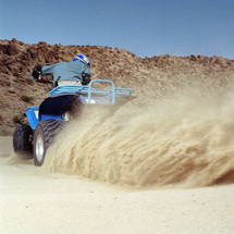 Riding, Sand Boarding and Quad Bike Adventure - Child