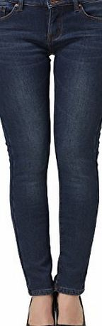 Camii Mia Womens Thick Thermal Slim Fit Jean (29, Blue 2)