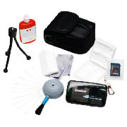 Digital Camera Starter Kit with 2GB SD