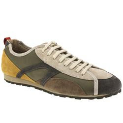 Male Asia Suede Upper in Brown and Grey