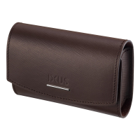 Canon Brown Soft Leather Case for Digital IXUS