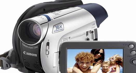 Canon DC301 Digital DVD Camcorder (32x Optical Zoom, 2.7 inch Widescreen Colour LCD)