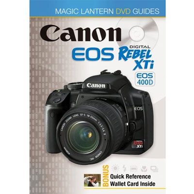 EOS 400D Rebel XTi Magic Lantern DVD Guides