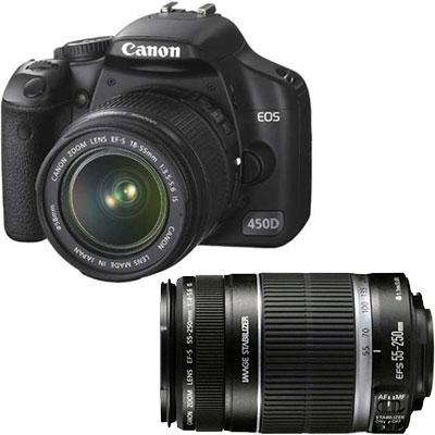 canon eos 450d digital camera with 18 55mm is review