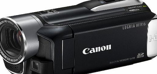 Canon LEGRIA HF R16 High Definition Digital Camcorder - Black (20 X Optical Zoom, 2.7 Inch Widescreen Colour LCD)