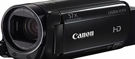 Canon LEGRIA HF R76 High Definition Camcorder (32x Optical Zoom, 1140x Digital Zoom, 3 inch OLED Touchscreen) - Black