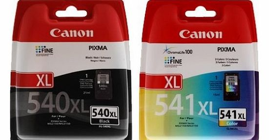 PG-540XL & CL-541XL High Capacity Ink Cartridge Pack