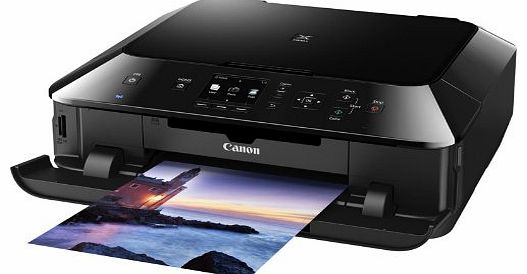 Canon PIXMA MG5450 All-In-One Colour Printer (Print, Copy, Scan, Wi-Fi, Touch control and Air Print)