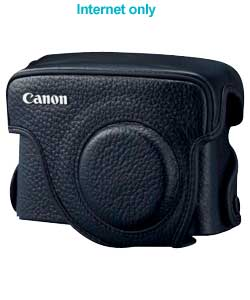 canon SC-DC60A Traditional Leather Case - black