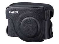 Canon Traditional Black Leather Case for