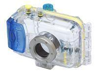 Canon WP DC100 - Marine case ( for digital photo camera ) - plastic - blue- transparent