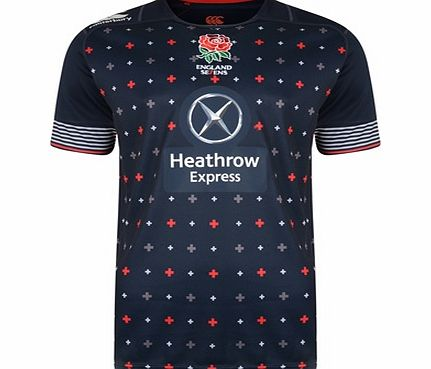 England Alternate Sevens Rugby Pro Shirt 2014/15