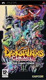CAPCOM Dark Stalkers Chronicles The Chaos Tower PSP