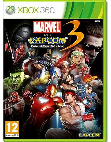 Marvel Vs Capcom 3 - Fate of Two Worlds on Xbox