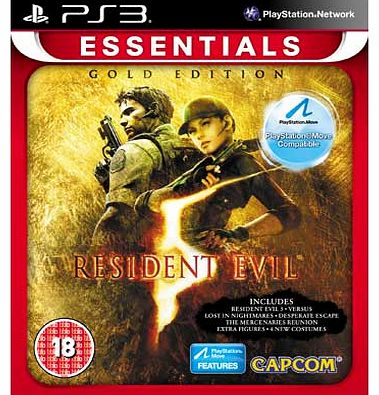 Resident Evil 5 Gold Essentials - PS3 Game