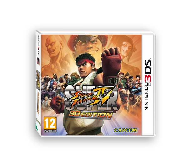 Super Street Fighter IV 3D NDS