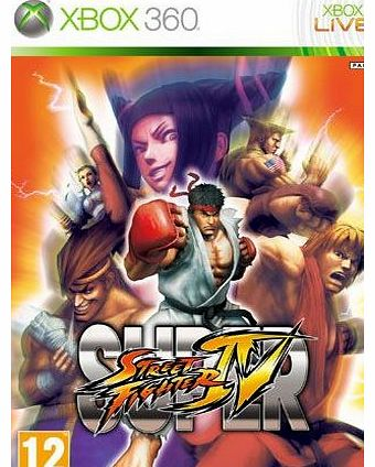 Super Street Fighter IV on Xbox 360